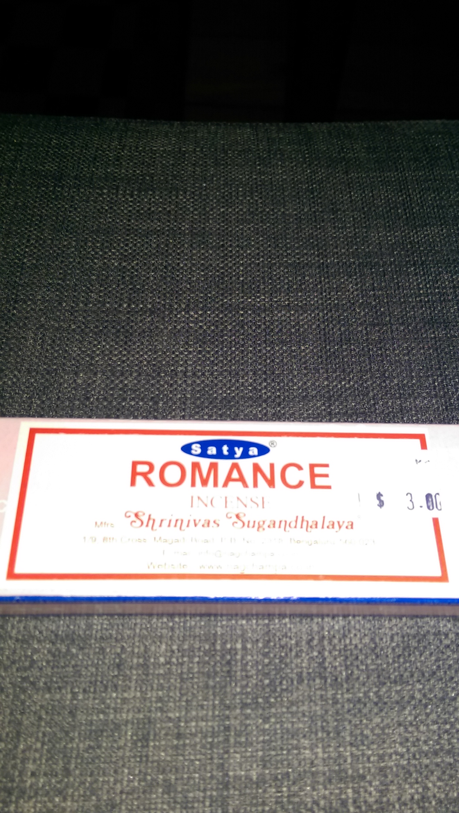 Romance Incense